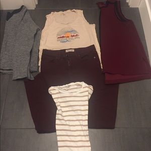 5 pieces of Madewell